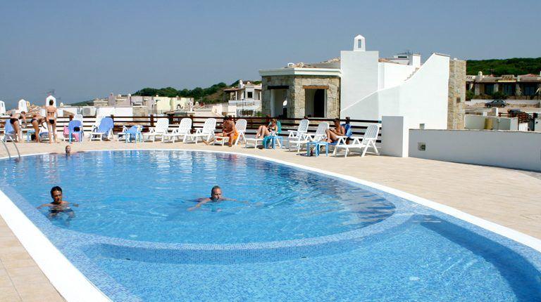 piscina del vista blu resort, alghero